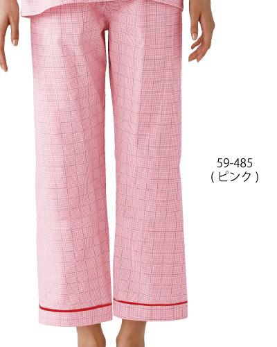 59-481_483_485 男女兼用 患者衣(パンツ・総ゴム) MONTBLANC
