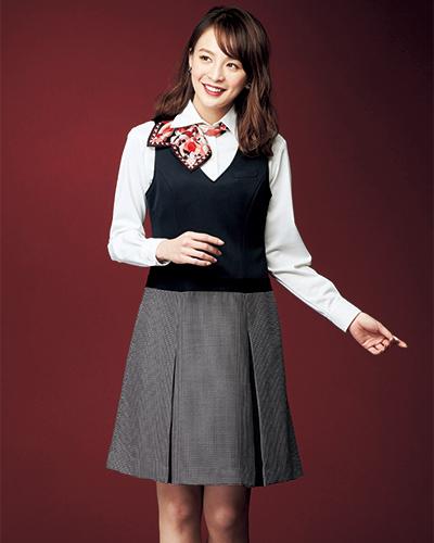 61510 en joie(アンジョア) ジャンパースカート