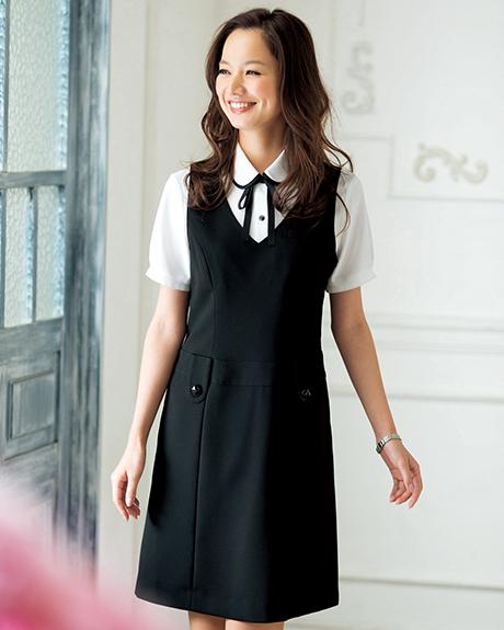 66300 en joie(アンジョア) ジャンパースカート
