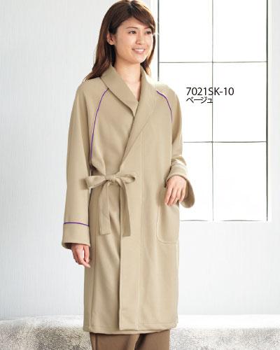 7021SK FOLK(フォーク) 検診衣 ガウン型