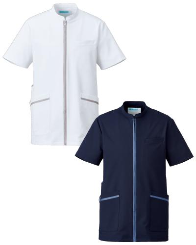 781 メンズジャケット半袖 Elegant(エレガント) KAZEN(カゼン)
