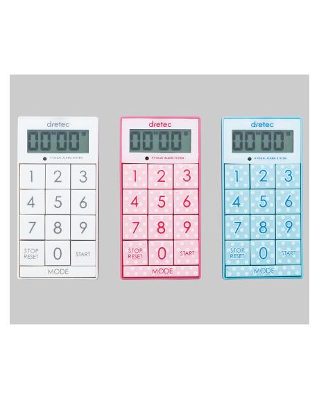 8-1440 ナビス(アズワン) スリムキューブ デジタルタイマー T-520 ナビス