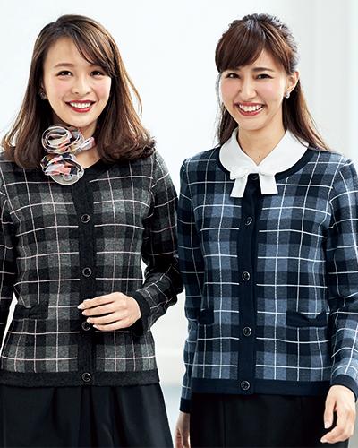 81800 en joie(アンジョア) ニットジャケット
