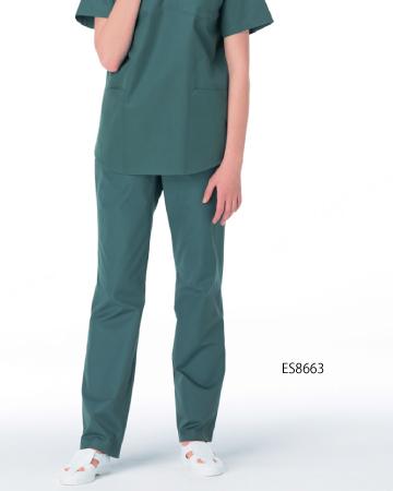 ES-8663 ナガイレーベン(nagaileben) レディススラックス手術衣