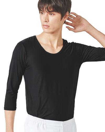 9002 FOLK(フォーク) メンズカットソー(8分袖) ※交換・ご返品不可商品