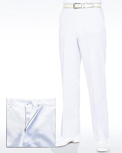 430-40 メンズスラックス(ホワイト)(大)
