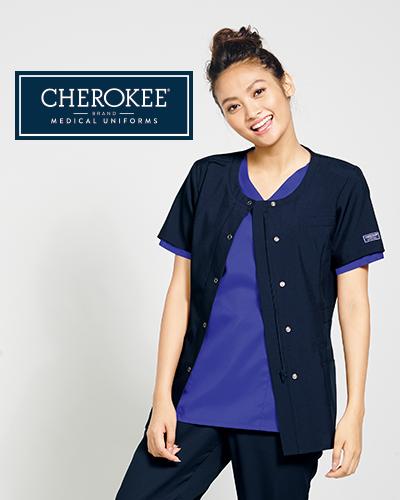 CH753 FOLK(フォーク)×CHEROKEE(チェロキー) レディス スクラブ