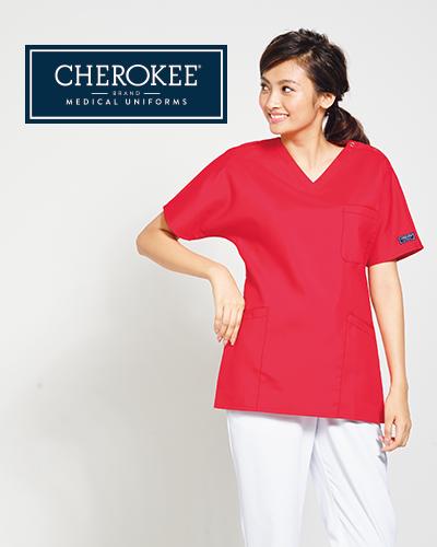 CH754 FOLK(フォーク)×CHEROKEE(チェロキー) レディス スクラブ