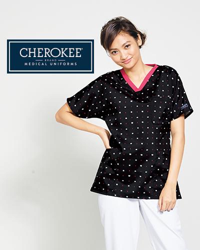 CH756 FOLK(フォーク)×CHEROKEE(チェロキー) レディス プリントスクラブ