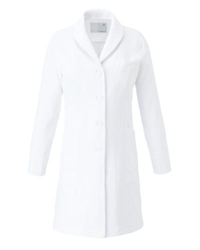 CM704 レディースコート ショールカラー 薬局衣  WECURE(ウィキュア)