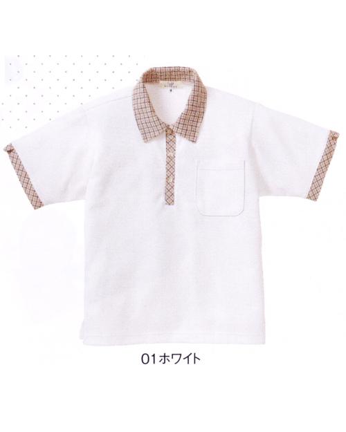 CR132 キラク(kiraku) レディスニットシャツ