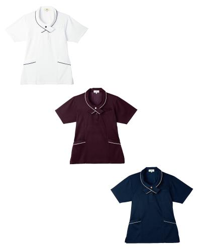 CR168 レディスニットシャツ キラク(KIRAKU) 2016-17新商品