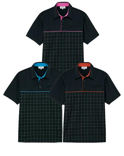 CR190 ニットシャツ 男女兼用 キラク(KIRAKU)