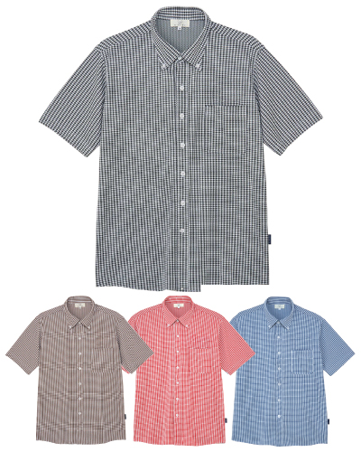 CR196 ニットシャツ 男女兼用 キラク(KIRAKU)
