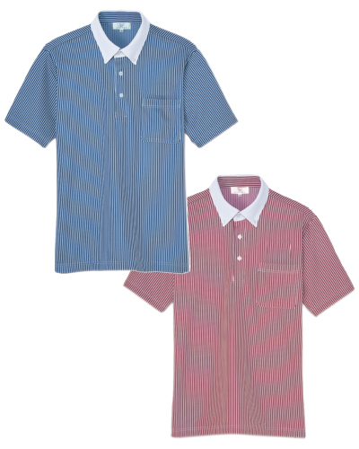 CR205 ニットシャツ 男女兼用 キラク(KIRAKU)