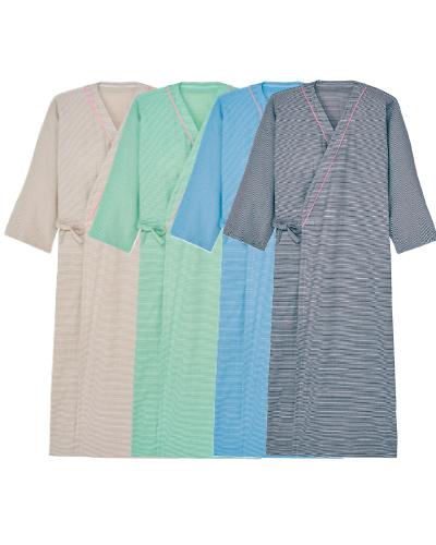CV023 浴衣 男女兼用患者衣※10枚単位 キラク(kiraku)