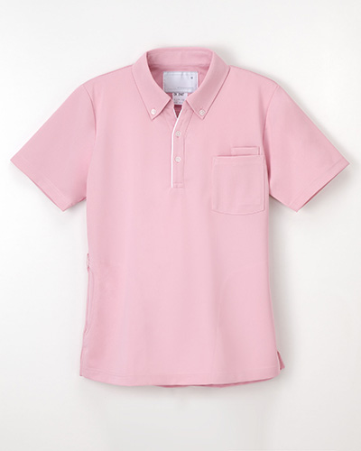 CX-2487 ナガイレーベン(nagaileben)介護ウェア 男女兼用ニットシャツ