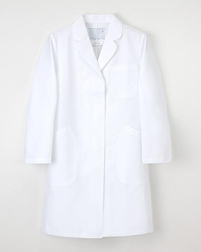 EM-3035 ナガイレーベン(nagaileben)エミット レディス診察衣シングル型