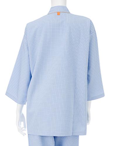 FG-1511 ナガイレーベン 男女兼用 患者衣(じんべい型)(上下別売り)