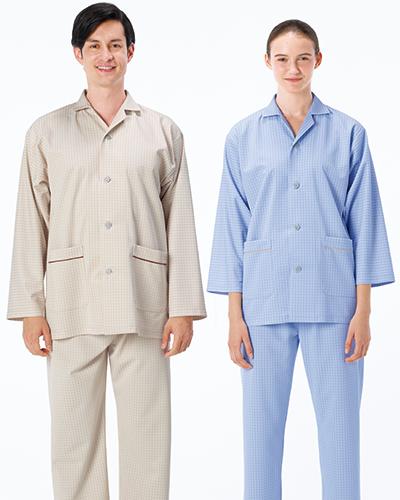 FG-1516 ナガイレーベン 男女兼用 患者衣(パジャマ型)