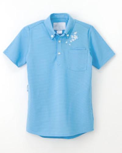 FH-2347 ナガイレーベン(nagaileben)介護ウェア 男女兼用ニットシャツ