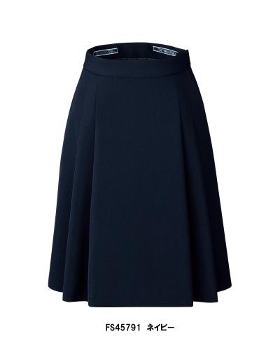 FS45791 NUOVO ソフトプリーツスカート