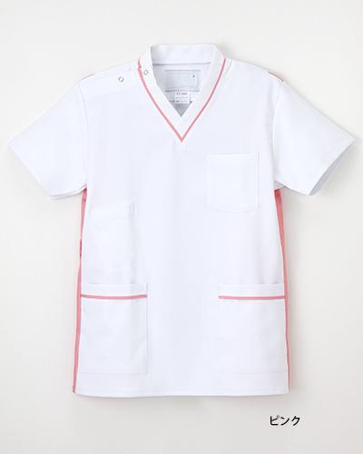 FT-4492 ナガイレーベン(nagaileben)ナースウェア男女兼用上衣半袖