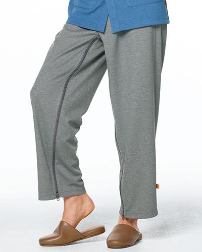 GJ-1588 ナガイレーベン 男女兼用 患者用パンツ(フルオープンタイプ)