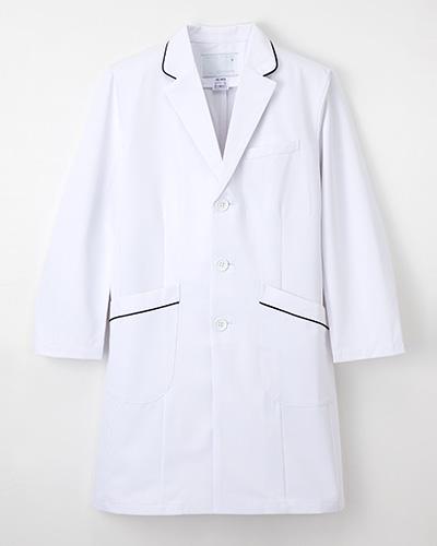 HE-4950 ナガイレーベン(nagaileben)シングル診察衣メンズ