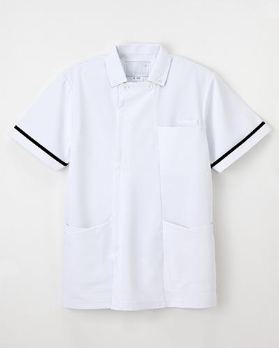 HO-1632 ナガイレーベン(nagaileben)ネイビーシリーズ メンズ上衣半袖