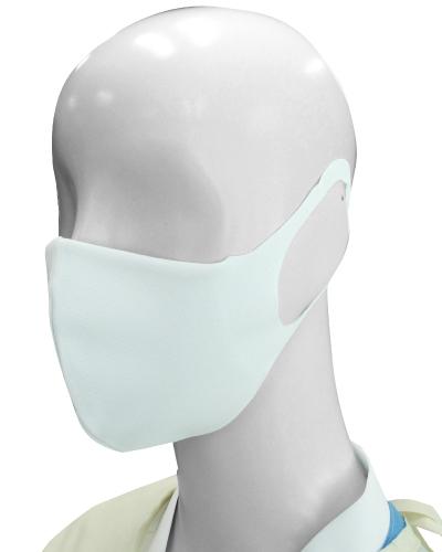 HOS-5505 リユーザブルマスク(10枚入り) フィルターポケット付 男女兼用 ナガイレーベン(nagaileben) ※ご返品不可商品です