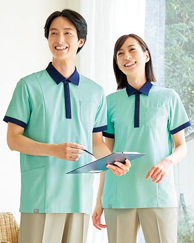 【半額セール対象】HS-8029 男女兼用ポロシャツ ONWARD(オンワード) Raffiria(ラフィーリア)