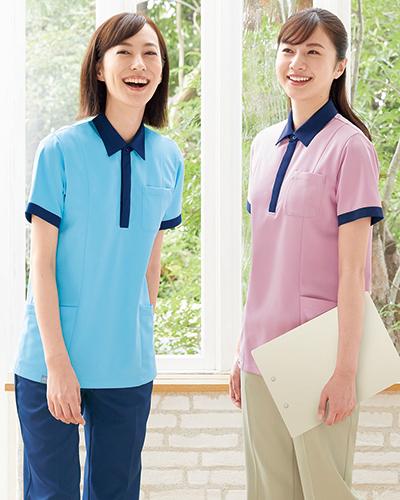 【半額セール対象】HS-8030 HS-8031 男女兼用ポロシャツ ONWARD(オンワード) Raffiria(ラフィーリア)