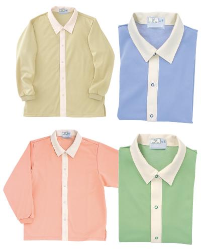 CR809 前開きシャツ(男女兼用)(大)