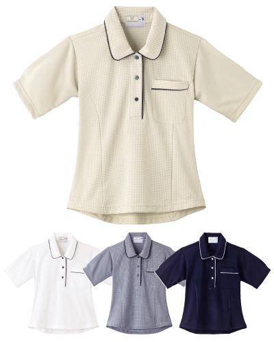 CR124 レディスニットシャツ
