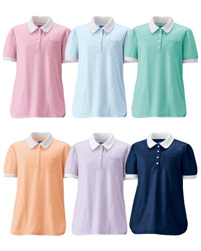 KZN239 介護用レディスニットシャツ KAZEN(カゼン)