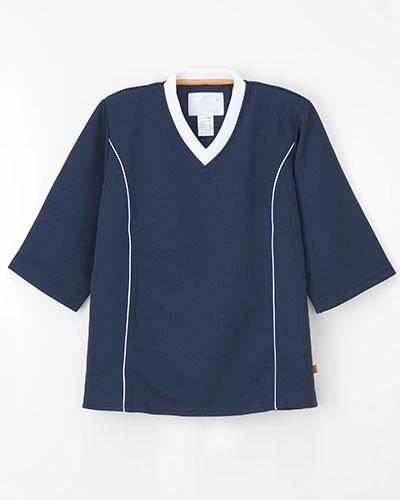 LK-1406 ナガイレーベン(nagaileben) 検診衣上衣 男女兼用(上下別売り)