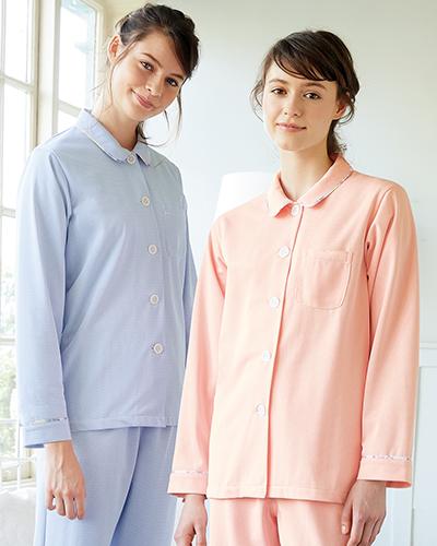 LP882 患者衣(長袖・上衣) ローラ アシュレイ
