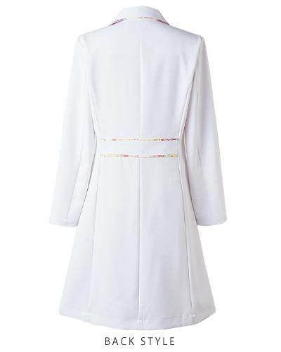 LW102 ドクターコート 白衣 レディス ローラ アシュレイ