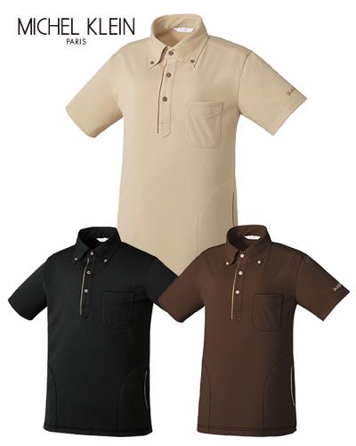 MK-0037 ミッシェルクラン 男女兼用ニットシャツ