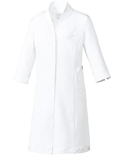 MK-0048 ミッシェルクラン ドクターコート(七分袖) レディス