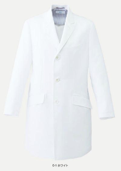MZ-0133 ミズノ(mizuno) ドクターコート メンズ ヘリンボン素材