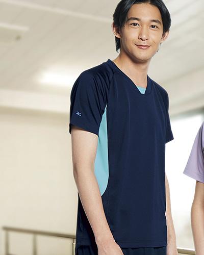MZ-0199 ミズノ(mizuno) 男女兼用入浴介助用シャツ