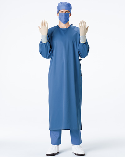 BMC-8920 ナガイレーベン(nagaileben)手術ガウン(センターバック式)
