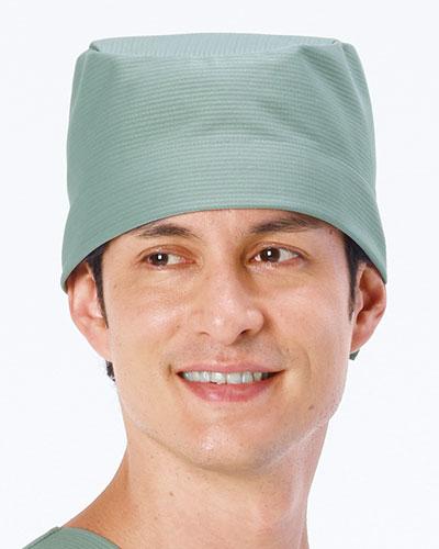 MF-506 ナガイレーベン(nagaileben) 男子手術帽(後ヒモ止め式)2枚組