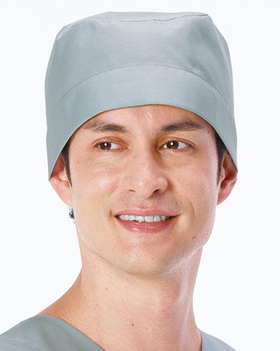 OR-506 ナガイレーベン(nagaileben) 男子手術帽(後ヒモ止め式)2枚組