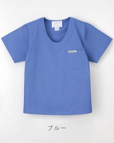 NR-8702 ナガイレーベン(nagaileben) 手術用上衣メンズ