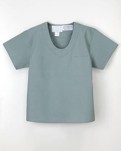 PD-3491 ナガイレーベン(nagaileben) 手術用上衣メンズ ミストグリーン