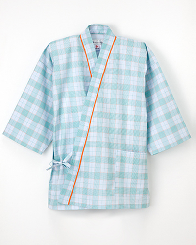 PG-1411 ナガイレーベン(nagaileben) 患者衣じんべい型上衣 男女兼用