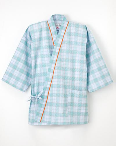 PG-1411 ナガイレーベン(nagaileben) 患者衣じんべい型上衣 男女兼用(上下別売り)